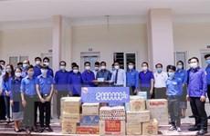 Đoàn Thanh niên Lào hỗ trợ các lưu học sinh Việt Nam tại Vientiane