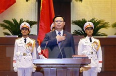 Chủ tịch Quốc hội Cuba chúc mừng Chủ tịch Quốc hội Vương Đình Huệ