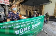 Hà Nội xây chắc 'Vùng xanh,' bảo vệ thành quả chống dịch