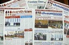 Báo Lào: Chuyến thăm của Chủ tịch nước Việt Nam đã thành công tốt đẹp