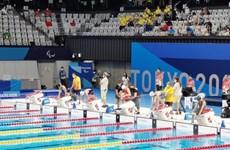 Paralympic Tokyo: Kình ngư Võ Thanh Tùng bị loại ở nội dung 50m bướm