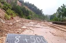 Quảng Nam khẩn trương khắc phục thiệt hại do áp thấp nhiệt đới gây ra