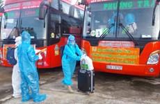 Gia Lai đón hơn 240 phụ nữ mang thai và trẻ em về từ vùng dịch
