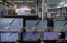 Triều Tiên thông báo tiến hành vụ phóng tên lửa từ tàu hỏa