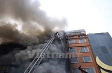 Công an khởi tố vụ án, điều tra vụ cháy quán karaoke tại Hà Nội