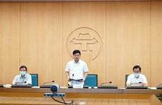 Hà Nội: Xử lý nghiêm việc không đeo khẩu trang, tụ tập đông người