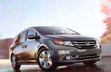 Honda ra mắt mẫu Odyssey minivan đời 2014 ở Nhật