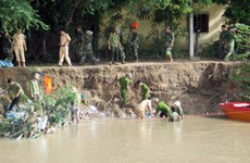 Tỉnh Ninh Thuận có ba người chết do nước cuốn trôi