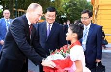 Tổng thống Nga kết thúc tốt đẹp chuyến thăm Việt Nam
