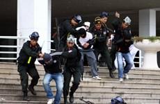 Diễn tập chống khủng bố, cứu hộ cứu nạn ở Tân Sơn Nhất