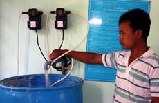 Gần 21 tỷ đồng cho hệ thống xử lý nước công nghệ mới