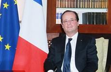 Tổng thống Pháp Francois Hollande tới Cộng hòa Trung Phi