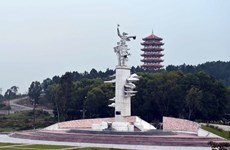 Khánh thành Đài tưởng niệm nhân dân hy sinh ở Đồng Lộc