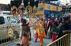 Tưng bừng lễ hội Thaipusam của người Ấn Độ ở Singapore
