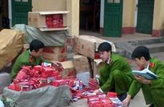 Hơn một tháng, bắt giữ gần hai tấn pháo lậu ở Lạng Sơn