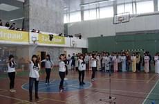 Khai mạc giải bóng đá-cầu lông sinh viên Việt ở Nga