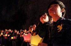 200 đôi tình nhân ước nguyện cầu duyên dưới thác Bảy tầng
