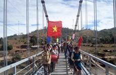 Hầu hết cầu treo ở Đắk Lắk đều xuống cấp, hư hỏng