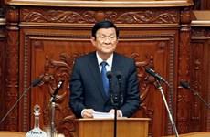 Bài phát biểu của Chủ tịch nước tại Quốc hội Nhật