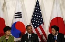Hội đàm 3 bên Mỹ-Nhật-Hàn về tình hình bán đảo Triều Tiên