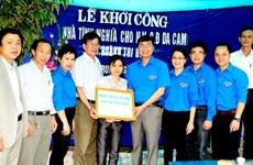 TTXVN tặng nhà cho nạn nhân da cam/dioxin tại Bắc Giang