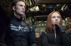 """""""Captain America 2"""" tiếp tục """"bất khả chiến bại"""" ở Bắc Mỹ"""