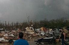 Lốc xoáy tại Mỹ gây thiệt hại nặng, 2 người thiệt mạng