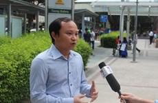 Người Việt ở Singapore phản đối hành động của Trung Quốc