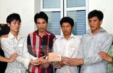 Lai Châu: Bắt quả tang bốn đối tượng mua bán trái phép chất ma túy
