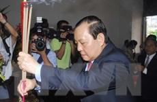 Dâng hương kỷ niệm 124 năm Ngày sinh Chủ tịch Hồ Chí Minh