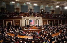 Hạ viện Mỹ thông qua dự luật về ngân sách quốc phòng