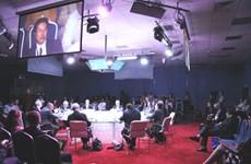 Lãnh đạo TTXVN dự Diễn đàn kinh tế quốc tế St. Petersburg