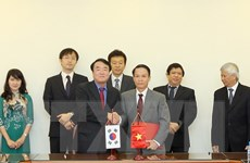 TTXVN và hãng Yonhap ký Thỏa thuận mới về hợp tác nghiệp vụ
