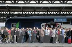 Pháp: Đình công ngành đường sắt gây thiệt hại 80 triệu euro