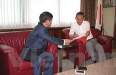 Đại sứ Việt Nam ở Thổ Nhĩ Kỳ trao tài liệu về vụ giàn khoan