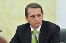 Chủ tịch Hạ viện Nga kêu gọi ngừng bắn mới ở Đông Ukraine