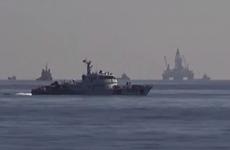 Tàu Việt Nam kiên trì bám trụ để tuyên truyền, thực thi pháp luật