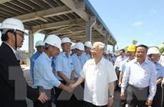 Tổng Bí thư Nguyễn Phú Trọng thăm và làm việc ở Thanh Hóa