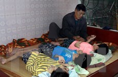 Tấm lòng những người bạn Nhật với nạn nhân da cam Việt Nam