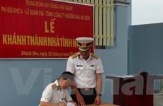 Tặng nhà cho vợ liệt sỹ Vũ Đức Nam hy sinh ở Trường Sa
