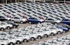 Xuất khẩu ôtô của Brazil trong 8 tháng vừa qua giảm 38%