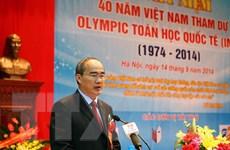 Kỷ niệm 40 năm Việt Nam tham dự Olympic Toán quốc tế