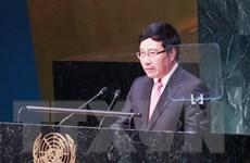 """""""Tôn trọng luật pháp quốc tế là nền tảng bảo đảm hòa bình"""""""