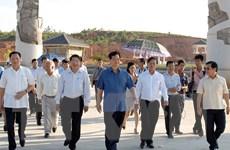 Thủ tướng dự Lễ hợp long cầu Cửa Đại bắc qua sông Thu Bồn