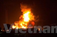 Italy xảy ra cháy lớn tại nhà máy lọc dầu Milazzo ở Sicily