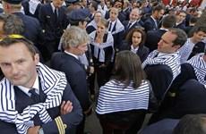 Nghiệp đoàn phi công Air France tuyên bố chấm dứt đình công