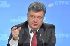 """Tổng thống Ukraine: Đối thoại là """"con đường"""" duy nhất cho miền Đông"""