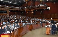 Quốc hội Campuchia khai mạc kỳ họp 3, sau 3 tháng ngừng họp