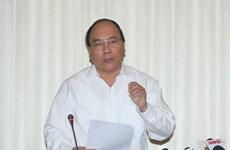 Phó Thủ tướng Nguyễn Xuân Phúc làm việc với TP Hồ Chí Minh