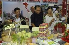 TP.HCM: 170 doanh nghiệp tham dự hội chợ nông sản xuất khẩu